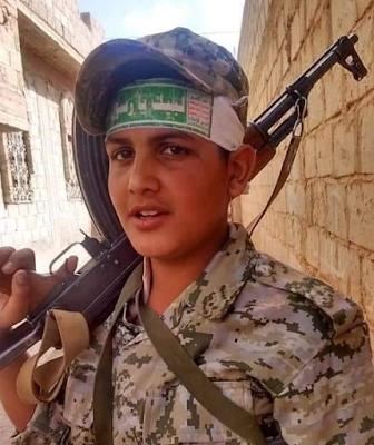 نجل العميد محمد المحاقري اركان حرب لواء 111 في محور ابين قتيل في صفوف المليشيات الحوثية .