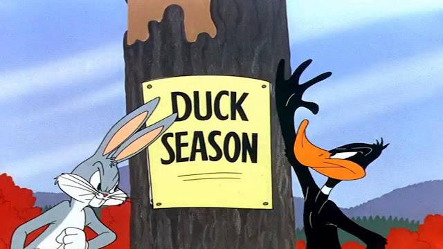 El adiós de Bugs Bunny y el Pato Lucas