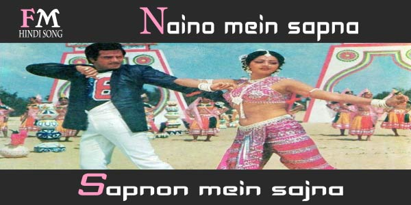 Naino-mein-sapna-Sapnon-Himmatwala-(1983)
