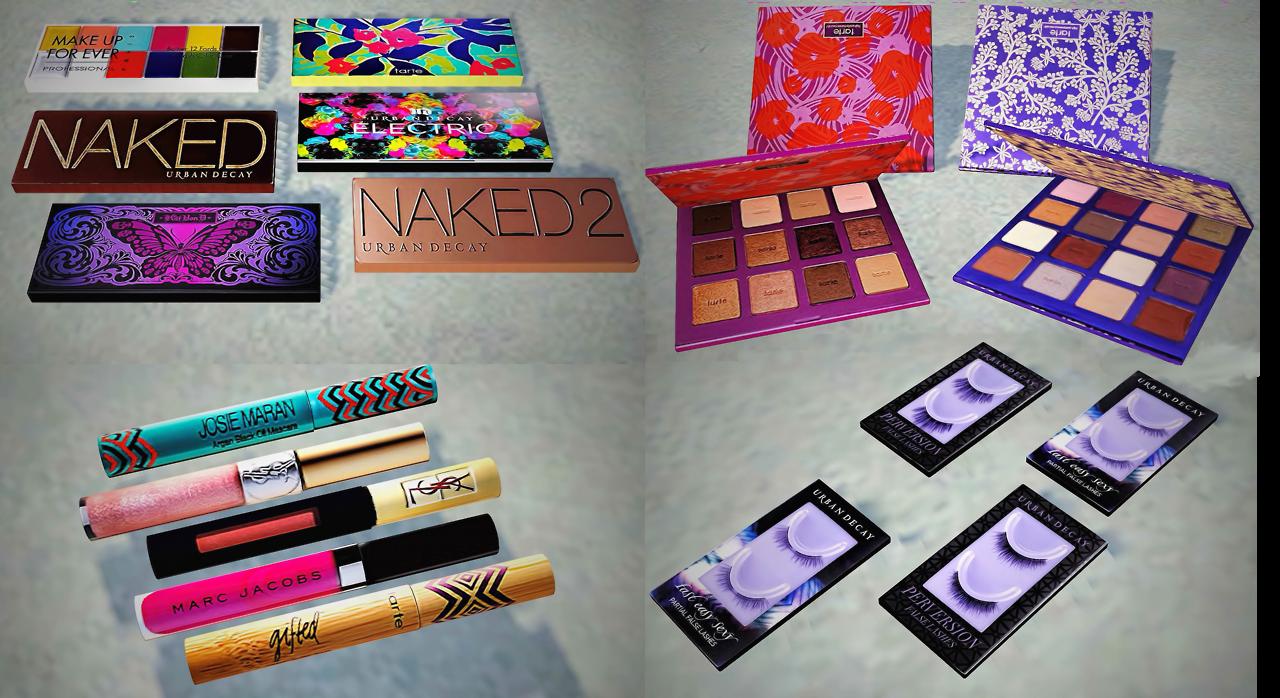 My Sims 3 Blog: Sephora Makeup Clutter by YaYaSimblr