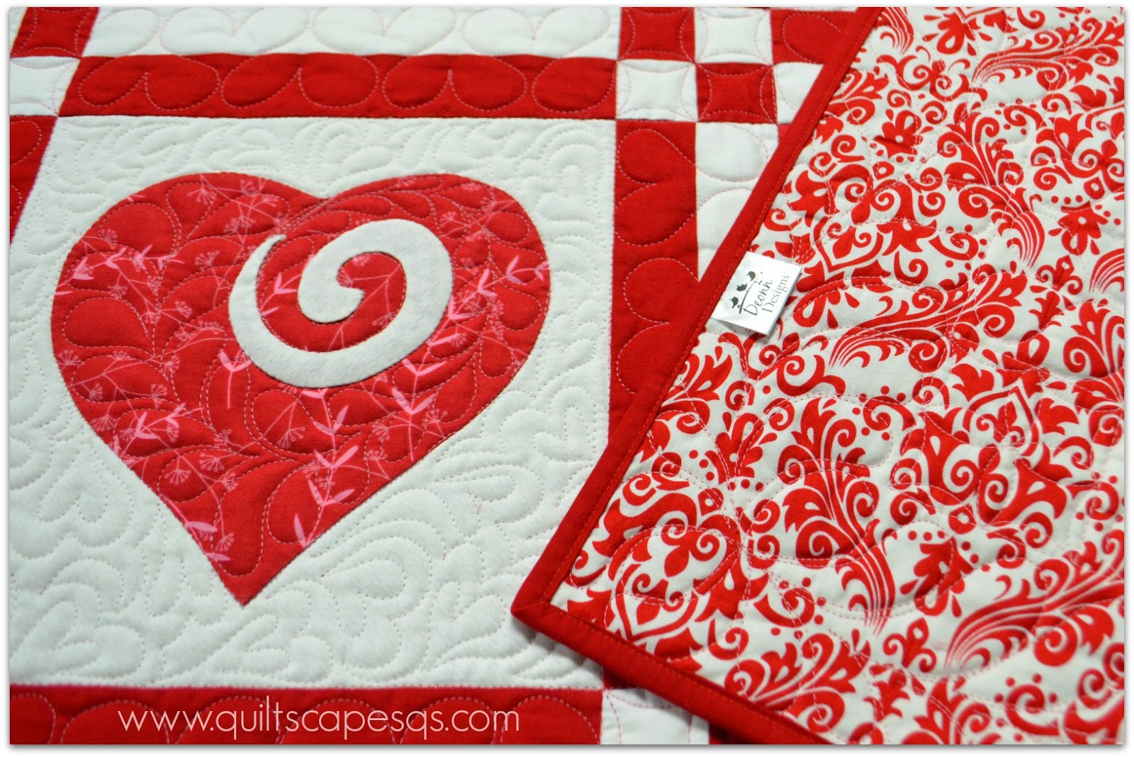 Hearts all around a quilting life