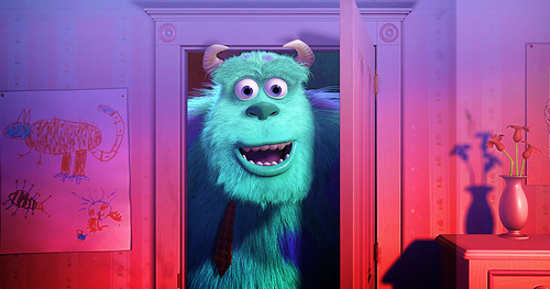 Differences Between Mike Sully And Randall From Monsters Inc: GREAT FILMS: Monsters, Inc. (2001