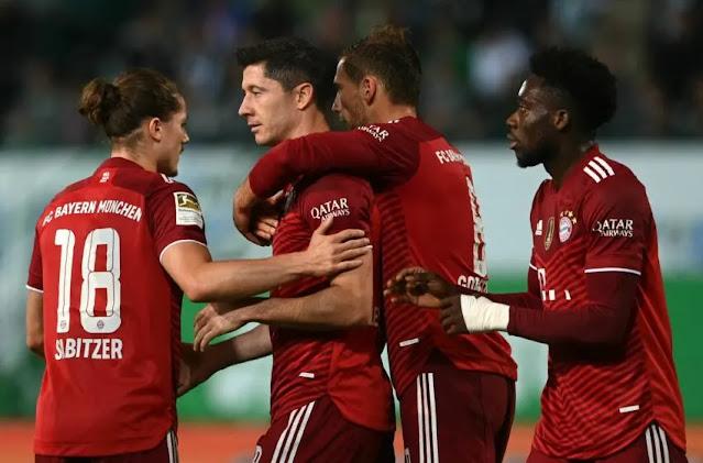 موعد مباراة بايرن ميونخ وآينتراخت فرانكفورت القادمة في الدوري الالماني والقناة الناقلة