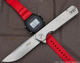 "Ganzo Firebird FH12 flipper & SKMEI 1496 red ""G-Shock"""