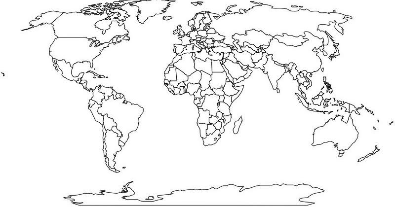 3 File Peta Buta Dunia 2020 Resolusi Tinggi Ilmusiana
