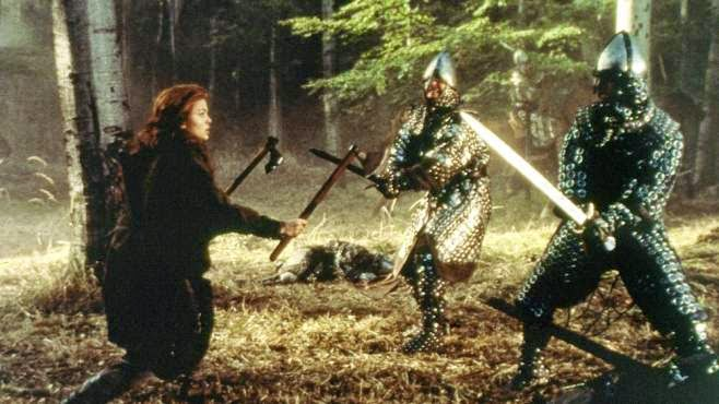 Dragonheart sword fight scene