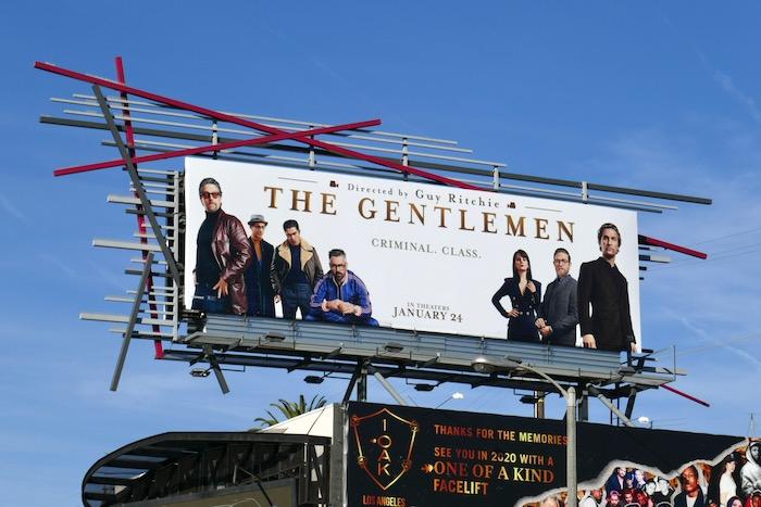 Gentlemen movie billboard