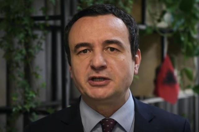Kurti premijer Kosova