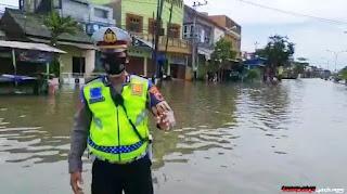Banjir Genuk Semarang Hari ini, Genangan air Masih Tinggi