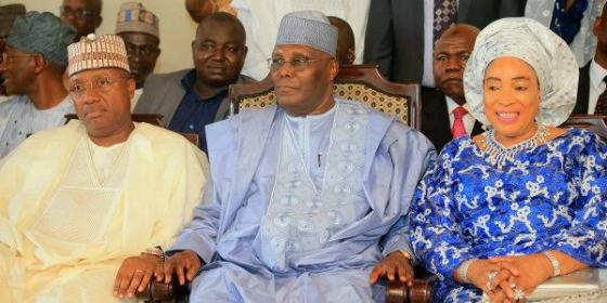 Atiku Abubakar and his wife Titi attend their son wedding in Kumasi Ghana