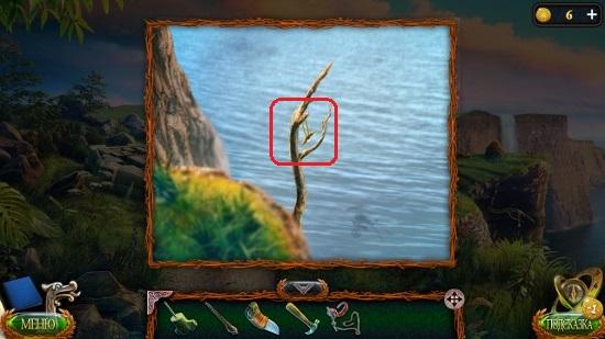 медальон на дереве в игре затерянные земли 4 скиталец