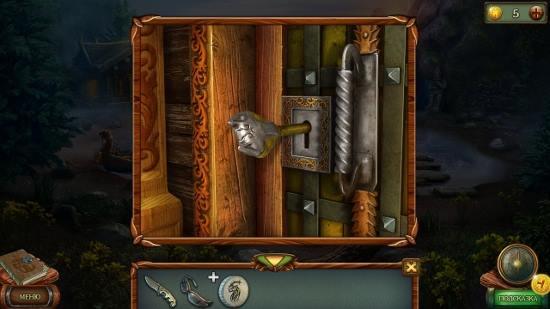 ключом открываем двери дома на озере в игре наследие 3 дерево силы