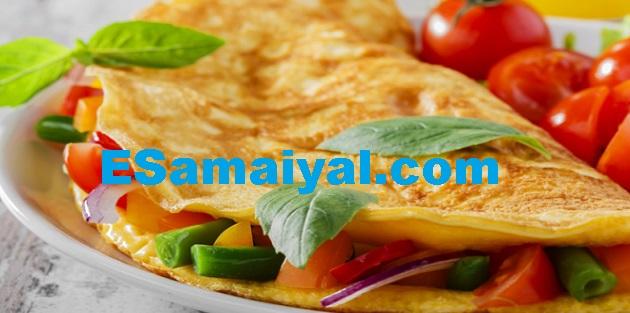 பொட்டோட்டோ சீஸ் ஒம்லெட் செய்முறை / Pottotto cheese omlet !