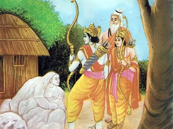 Ramayana chapter 3 - Rama with Viswamitra