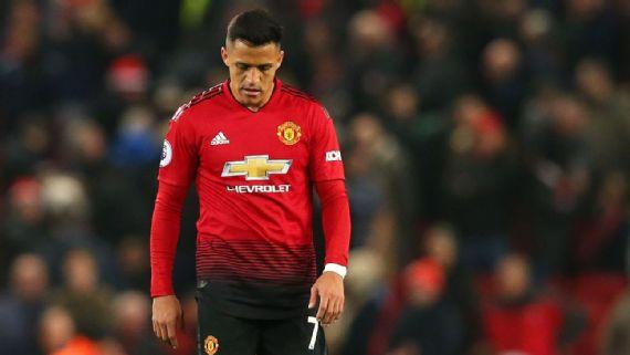 Alexis Sanchez meninggalkan Old Trafford dengan Status Sebagai Salah Satu yang Terburuk