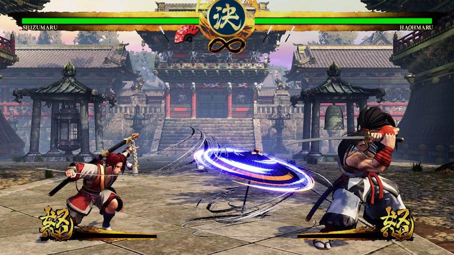 shizumaru hisame vs haohmaru samurai shodown 2019 free dlc character ps4 xb1 snk