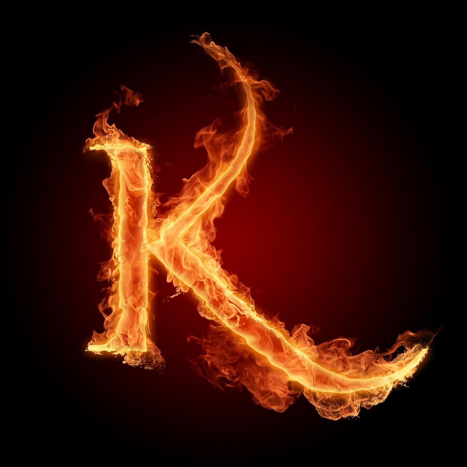 Huruf A sampai Z dengan Elemen Api  iniwallpaperkami