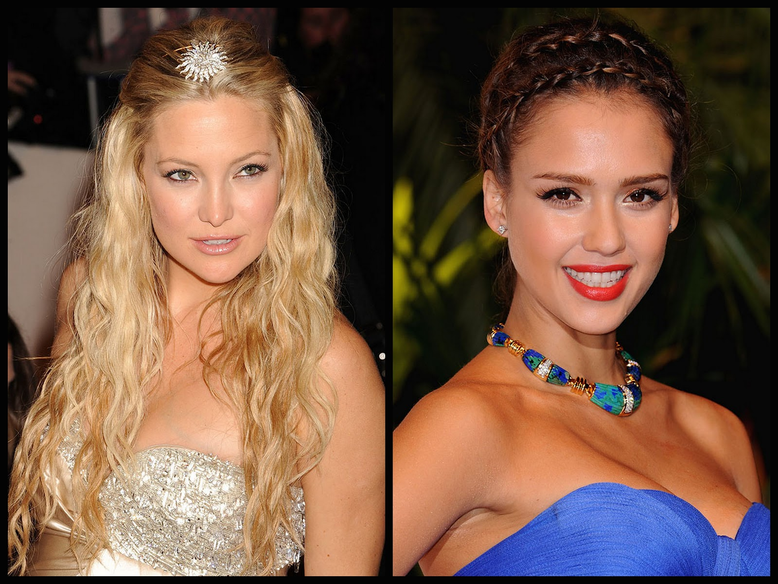 Yılbaşı gecesi için saç modelleri