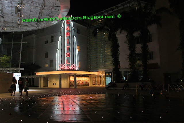 Night time, Capitol Theatre, Singapore