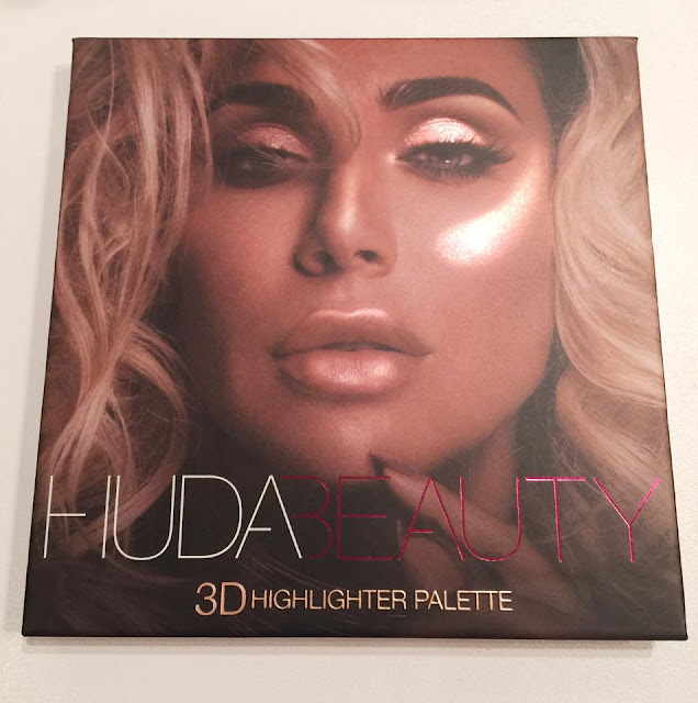 revue palette Highlighters 3D Pink Edition de Huda Beauty