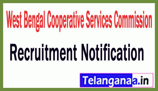 West Bengal Cooperative Services Commission WBCSC Recruitment