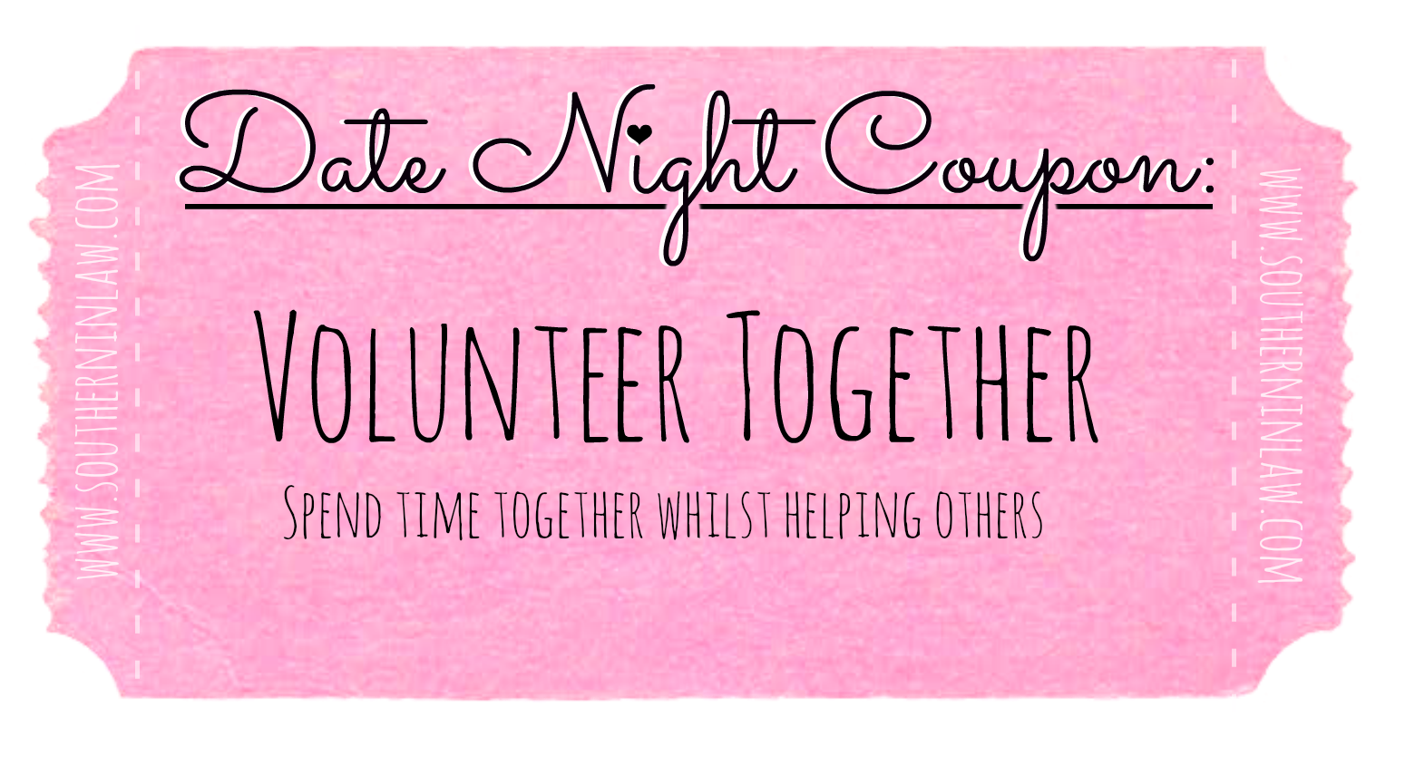 Affordable Date Ideas - Cheap Date Ideas Coupons - Volunteer Together