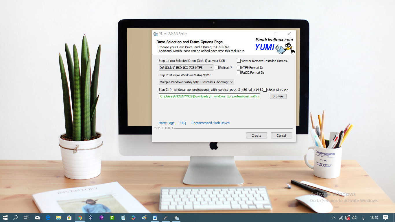 برنامج YUMI لحرق عدة أنظمة التشغيل على فلاشة USB