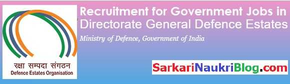 Government Jobs Vacancy DGDE
