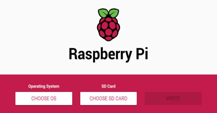 Raspberry Pi Imager Utility 2020