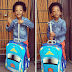 J Martins shares cute photo of his son as he resumes school