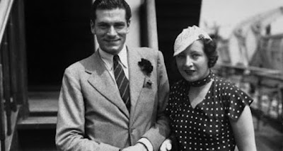 Laurence Olivier and his first wife, Jill Esmond