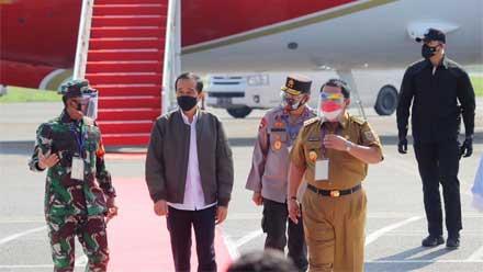 Pangdam II Sriwijaya Sambut Kunjungan Kerja Presiden RI di Provinsi Lampung