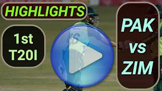 PAK vs ZIM 1st T20I 2020