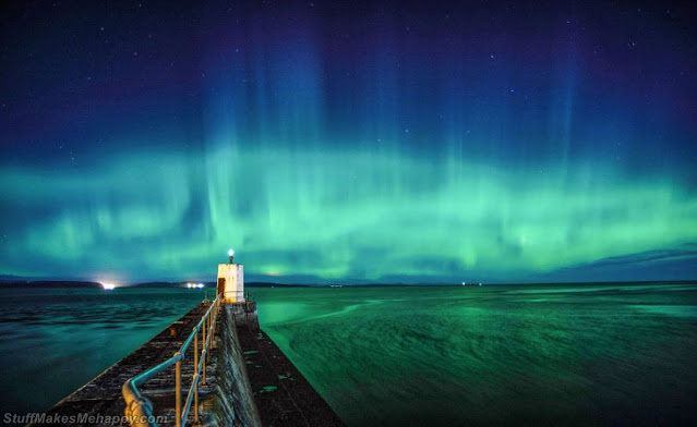 Northern Lights. (Photo by Joss Ward / Sea View Photography Competition 2020)