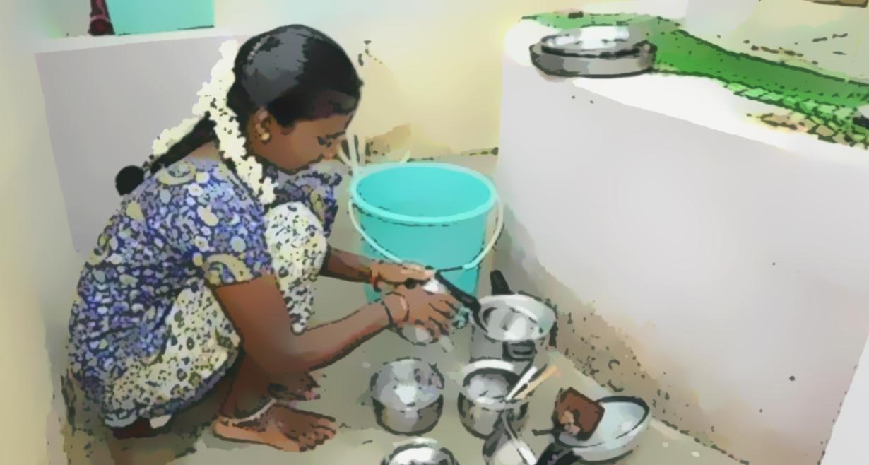 45,400 children under the age of 18 are in slavery in Sri Lanka