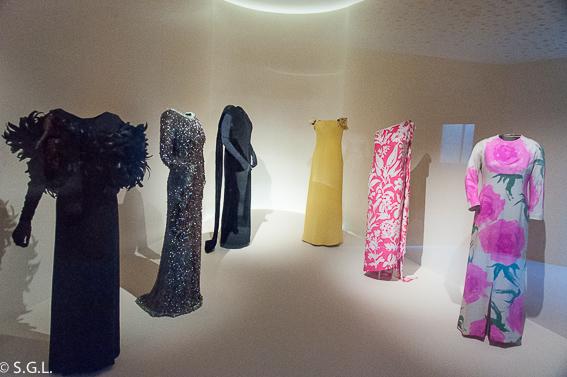 Vestidos en Museo Balenciaga