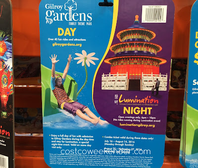 Costco 1080823 - Have fun on the rides and take in the bright lights of Illumination with the Gilroy Gardens / Lumination 2016 Combo Ticket