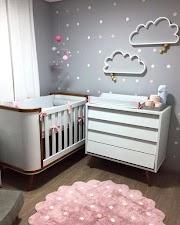 Quarto de bebê - Pinterest