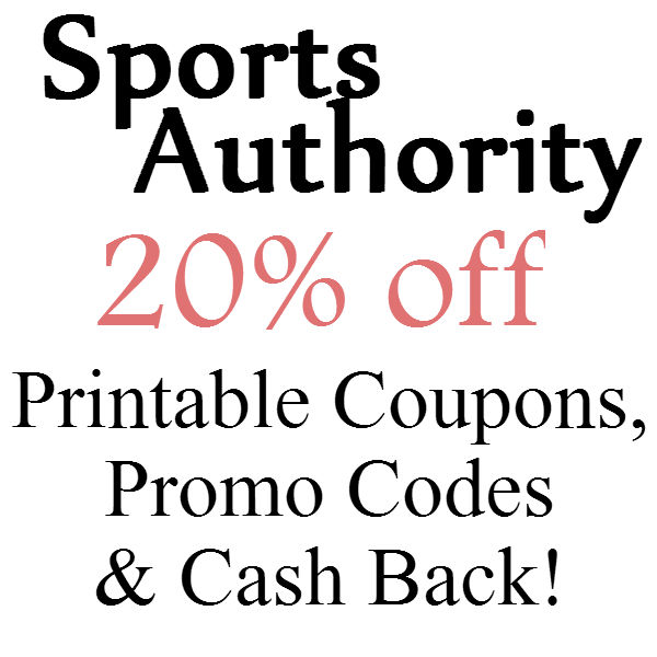 graphic regarding Sport Authority Printable Coupon named The Sports activities Authority 25% off 2019 Printable Discount codes In just-Retailer