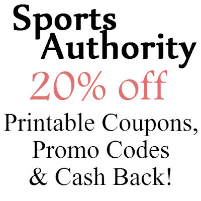 Sports Authority Printable Coupon February, March, April, May, June, July 2016