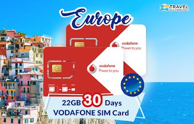 Pakej simkad Europe 22GB untuk RM178