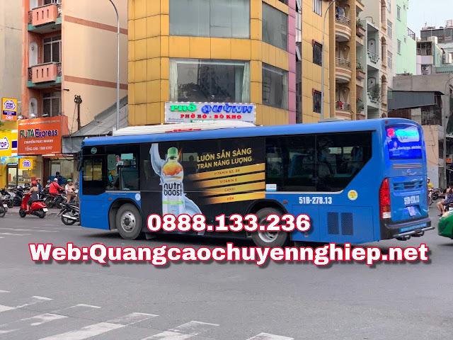 Tại sao nên quảng cáo trên xe buýt