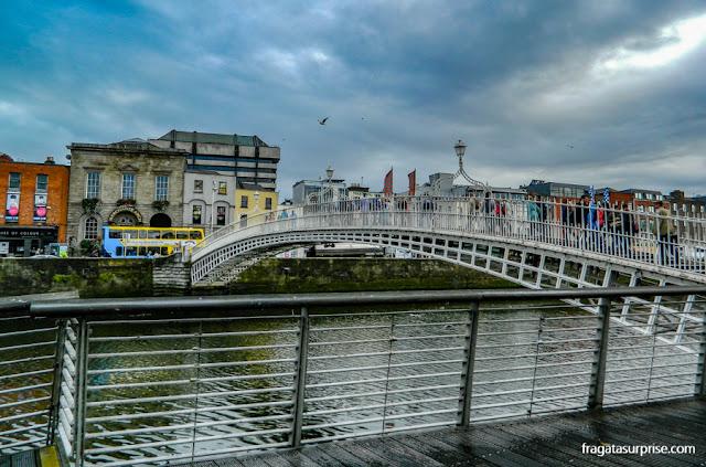 Rio Liffey, Dublin, Irlanda