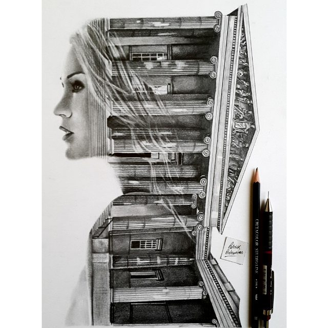 11-Romania-Patrick-Antounian-Black-and-White-Double-Exposure-Drawings-www-designstack-co