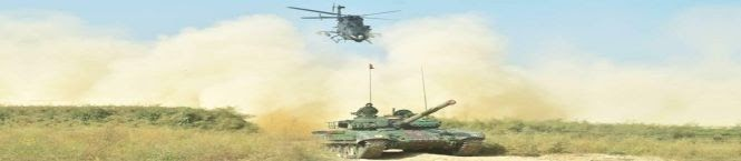 Army Conducts Integrated Battle Drills With Tanks And Helicopters