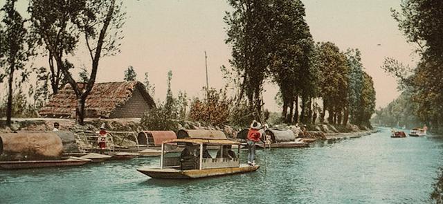 dòng kênh de la Viga ở Mexico City