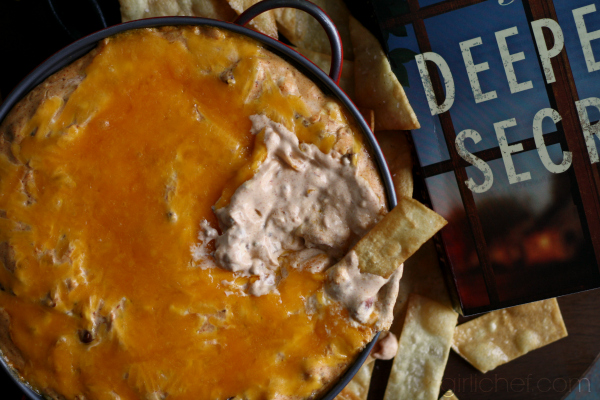 <b>Spicy Chili Dip</b> inspired by <b>The Deepest Secret</b> {book tour}