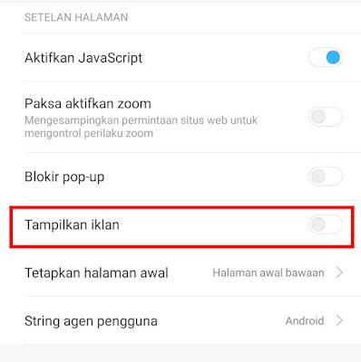Cara Menghilangkan Iklan di HP Xiaomi Secara Permanen