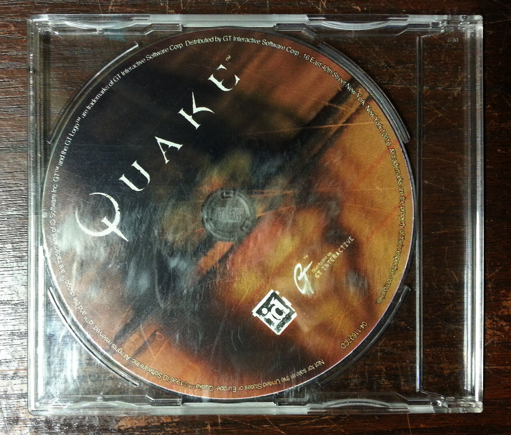 Goodbye Win XP: Install Quake on Linux from the CD
