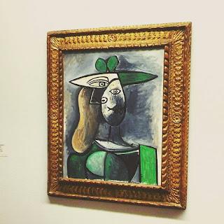 """""""Kobieta w zielonym kapeluszu"""" Pablo Picasso"""